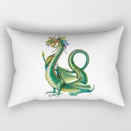 Dragons/Rainbow Dragon Rectangular Pillow