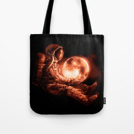 Moon Play Tote Bag