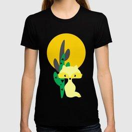 Desert fox pattern T-shirt