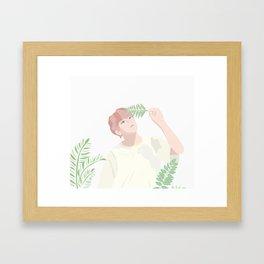 Summer Kookie Framed Art Print