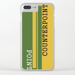 Weekend Update: Point Counterpoint Clear iPhone Case