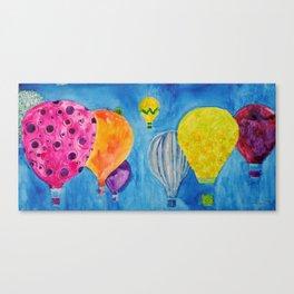 Endless Balloons Canvas Print