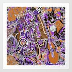 Music in my Soul Art Print
