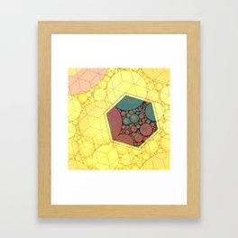 Sunsquare Framed Art Print