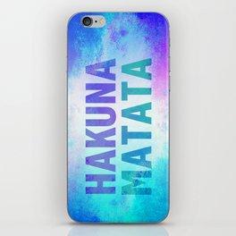 Hakuna Matata III iPhone Skin