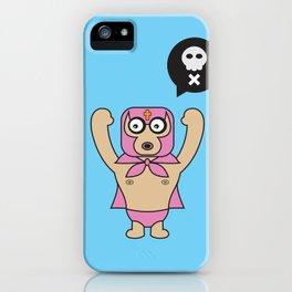 ****Lucha Libre****El Diablo iPhone Case