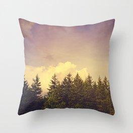 North Wilderness Throw Pillow