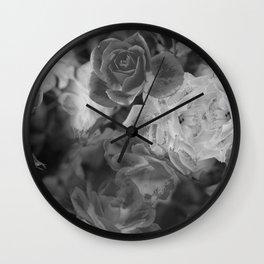 Grey Sentinels Wall Clock