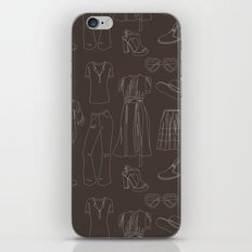 a closet full of clothes iPhone & iPod Skin