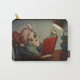 Little Book Worm Carry-All Pouch