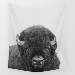Buffalo Print, Bison Wall Art, Photography Print Wall Tapestry