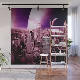 New New York : Galaxy City Wall Mural