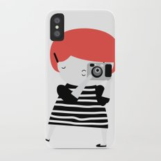 The ginger photographer iPhone X Slim Case