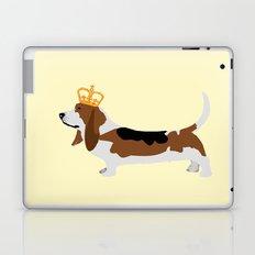 Royal Basset Hound Dog  Laptop & iPad Skin