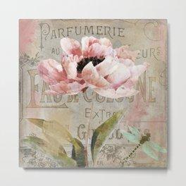 Le Fleur Jardin Metal Print