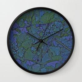 brigadoon in purple Wall Clock