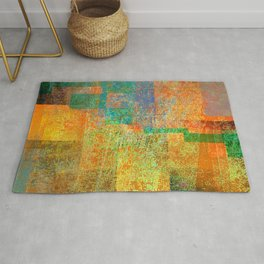 rising concern. hot summer Rug