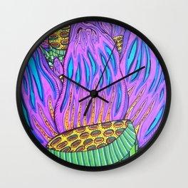 Lucid Lotus Wall Clock