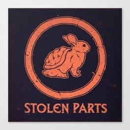 Stolen Parts Canvas Print