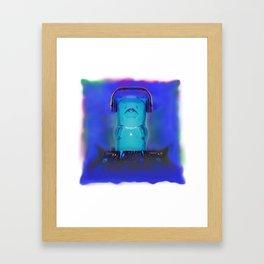 Party Bear Framed Art Print