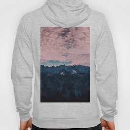 Pastel mountain mood Hoody