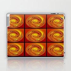Abstract Collage Orange Art. Laptop & iPad Skin