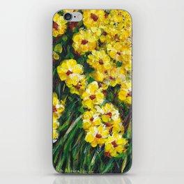 Field of Yellow Flowers iPhone Skin