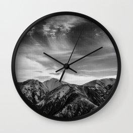 Mount Hutt Sky Wall Clock