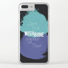 Wishbone Love Clear iPhone Case