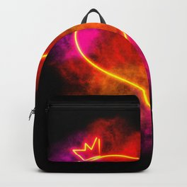 Heart on Fire Backpack