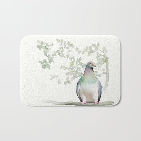 Wood Pigeon Bath Mat