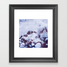 Winter morning Framed Art Print