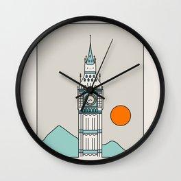 Cat Landscape 24 Wall Clock