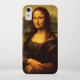 Leonardo Da Vinci Mona Lisa Painting iPhone Case