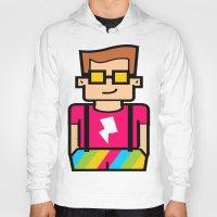 nerd Hoodies featuring NERD by kacksclothier