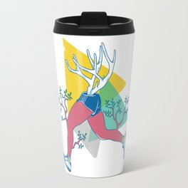 Run like a deer Travel Mug
