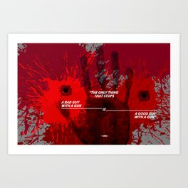 The Only Thing  Art Print