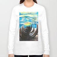 shell Long Sleeve T-shirts featuring Shell by Katrina Berkenbosch