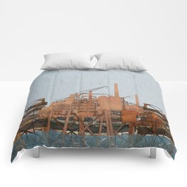 Rigs at sea Comforters