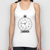 watch Tank Tops featuring Watch by antonio&marko