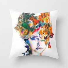 Untouched Presence Throw Pillow