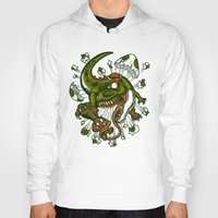 mortal instruments Hoodies featuring Mortal egg by Adrian Filmore