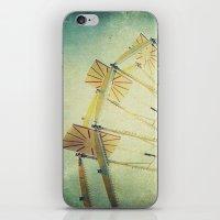 glee iPhone & iPod Skins featuring Ferris Wheel by Honey Malek