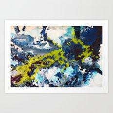 Invisible Edge Art Print