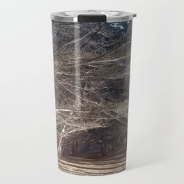 The Woods Hold Both the Light and the Darkness Travel Mug