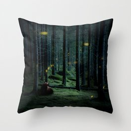 Finding the Light Throw Pillow