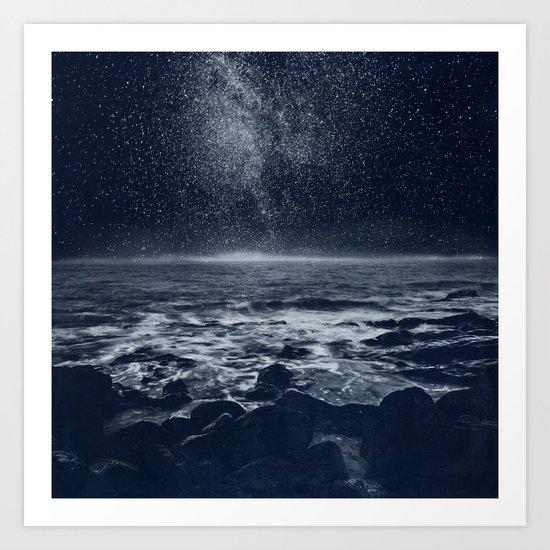 the Dreaming Ocean Art Print