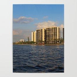 Shoreline in Fort Myers III Poster