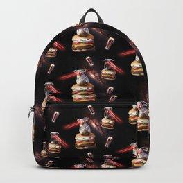 Space Laser Koala On Flame Grilled Veggie Burger Backpack