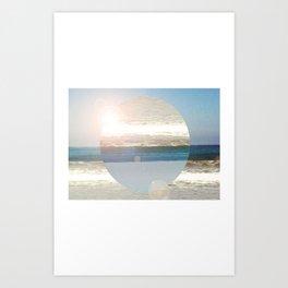 Pacific Circle Art Print